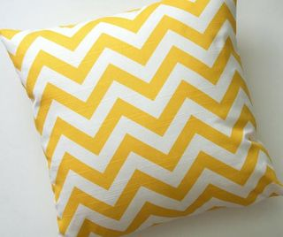 Chevron cushions